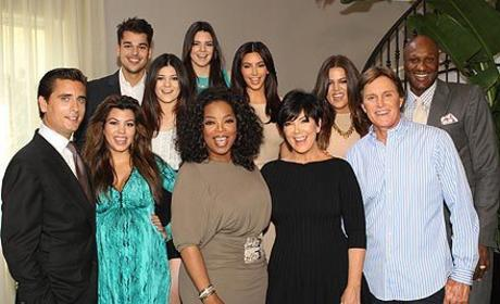 Oprah Defends The Kardashians: They Work Hard!