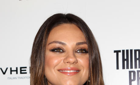 Mila Kunis Close-Up