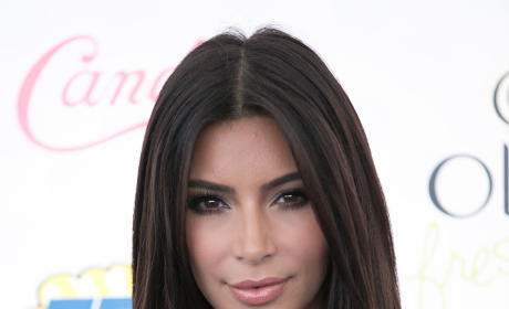 Kim at Teen Choice Awards