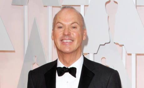 Michael Keaton: Caught Pocketing Oscar Speech After Eddie Redmayne Win?