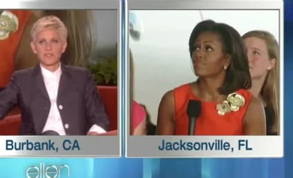 Michelle Obama Prom Dress: Revealed on Ellen!