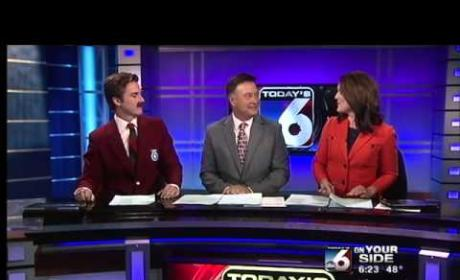 Local Sports Anchor Does Full Segment as Ron Burgundy