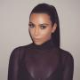 Kim Kardashian Shows Off Her Ponytail