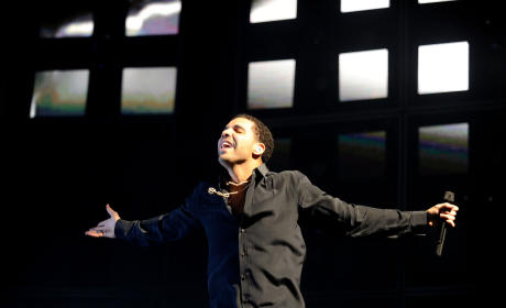 Drake Sort of Speaks on Chris Brown Brawl in Concert