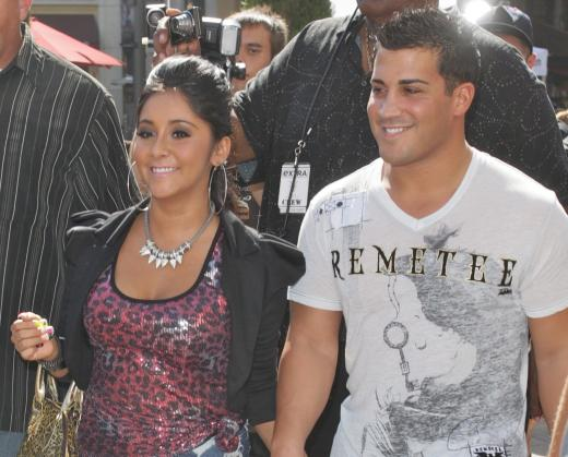 Snooki and Jionni LaValle Photo