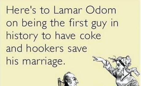 Chris Rock to Lamar Odom: Nice Use of Coke and Hookers!