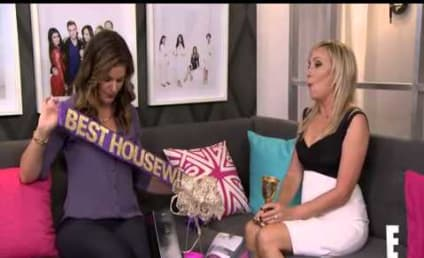 Shannon Beador Accepts Award For Best Housewife Ever! Watch Her Receive Her Hilarious Prizes!