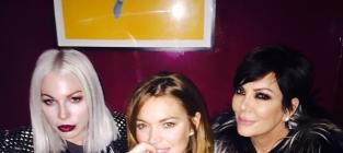 Lindsay Lohan, Kris Jenner Photo