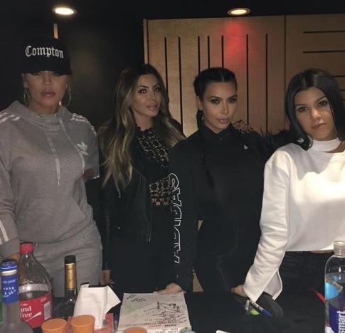 Kardashians in the Studio