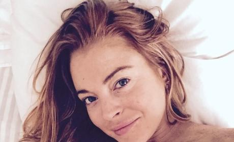 Lindsay Lohan: Naked and Makeup-Free on Instagram!
