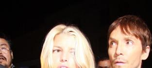Jessica Simpson, Ken Paves Pic