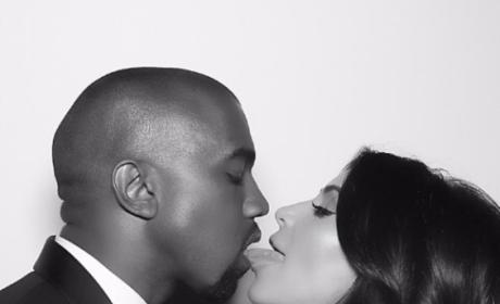 Licking Kanye West