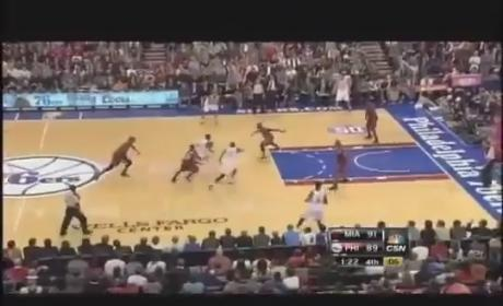 Jrue Holiday Dunks on LeBron James, Still Can't Beat the Heat