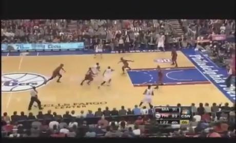 Jrue Holiday Dunks on LeBron