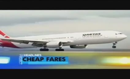 Australian News Anchor Mispronounces Qantas, Co-Anchor Responds Like a Boss