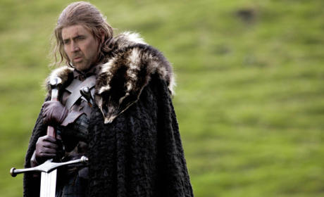 Nicolas Cage as Ned Stark