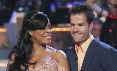 Niecy Nash, Louis Van Amstel Picture