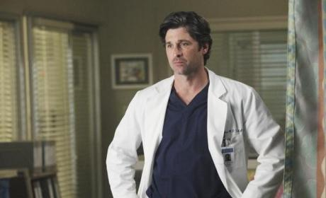 Patrick Dempsey on Grey's Anatomy