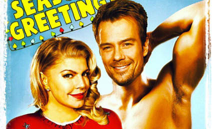 Fergie and Josh Duhamel: Shirtless Season's Greetings!