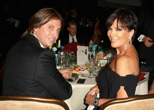 Jonathan Cheban and Kris Jenner