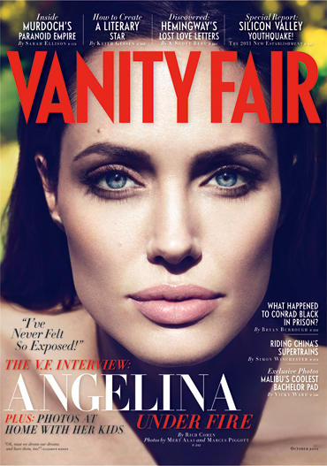 Angelina Jolie Vanity Fair Cover