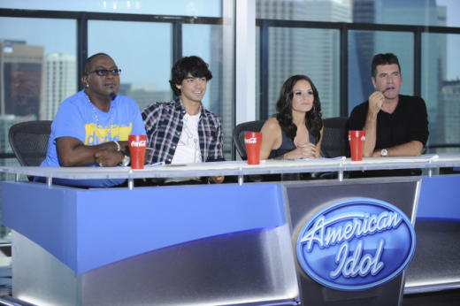 Joe Jonas on Idol