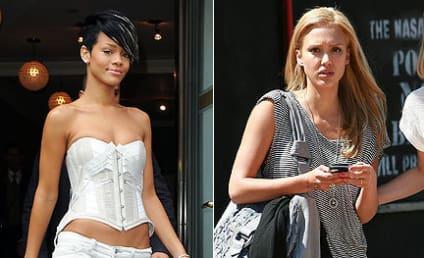 Celebrity Fashion Face-Off: Rihanna vs. Jessica Alba