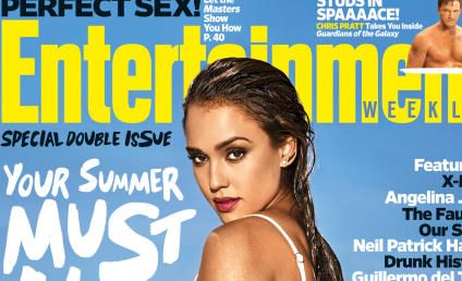 Jessica Alba: Bikini-Clad For Entertainment Weekly!