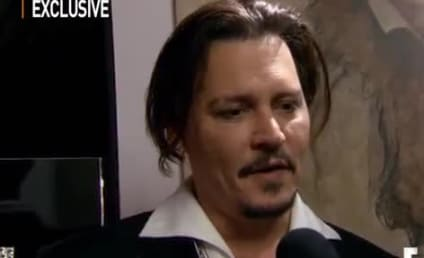 Johnny Depp: Drunk at Amber Heard's Movie Premiere?