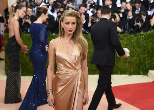 Amber Heard Gets Fancy