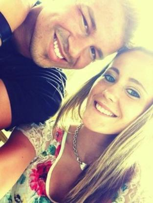 Jenelle Evans and Nathan Griffith Photo