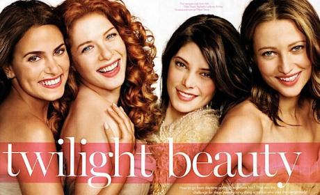 New Moon Beauties Featured in Glamour