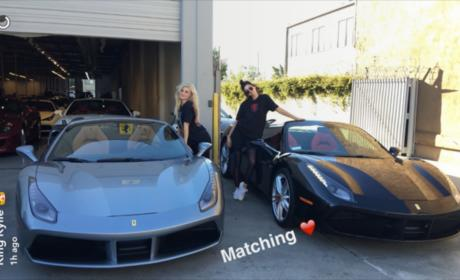 Kendall Jenner and Kylie Jenner Cars
