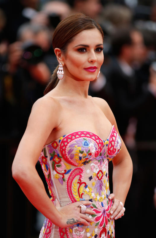 Cheryl cole at cannes