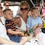 Sean, Jayden and Britney Federline
