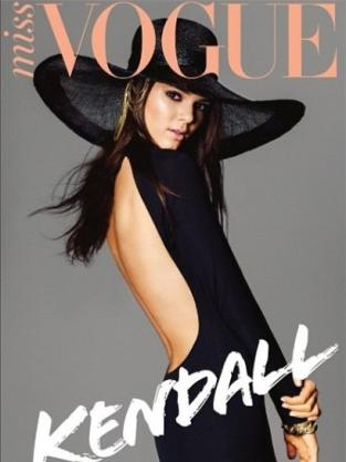 Kendall Jenner Miss Vogue Australia Cover