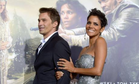 Olivier Martinez Halle Berry Cloud Atlas Premiere