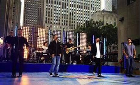 98 Degrees on The Today Show