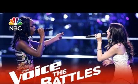 Briar Jonnee vs. Caitlin Caporale (The Voice Battle Round)