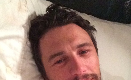 James Franco Selfie: Begging For Followers, Not Being Quasi-Creepy at All