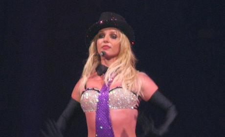 Sexy Britney Concert Pic