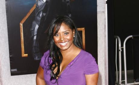 Shar Jackson, Many Children Attend Movie Premiere
