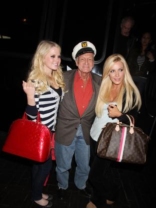 Hef and Anna Sophia Berglund
