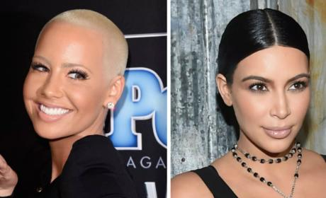 Kim Kardashian and Amber Rose: How Did They Make Peace?