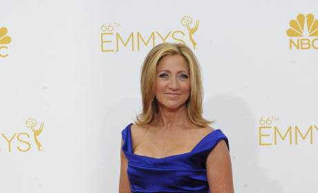 Edie Falco at the Emmys