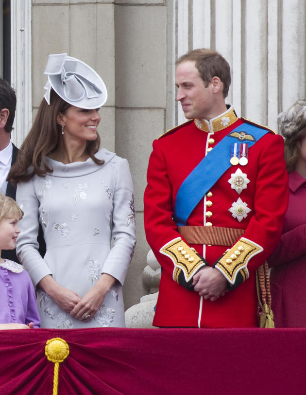 Kate Middleton With Prince William Photo