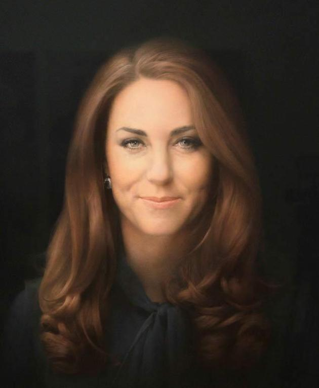 Kate Middleton Official Portrait