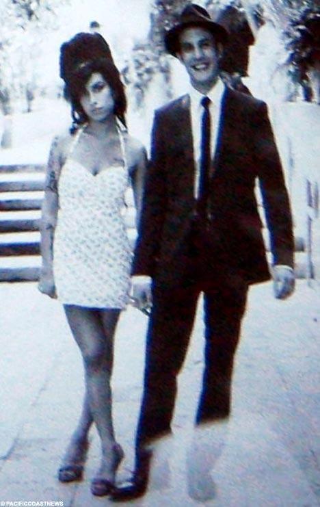Amy Winehouse Wedding Dress