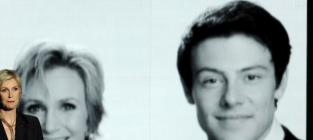 Cory Monteith Emmy Tribute: Jane Lynch Honors Late Co-Star