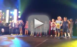 7-Year Old Upstages Pharrell, Busts Out Michael Jackson Moves
